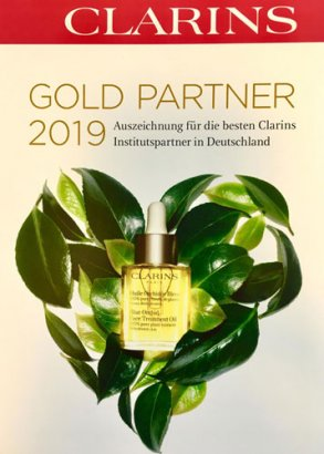 Clarins Goldpartner 2019